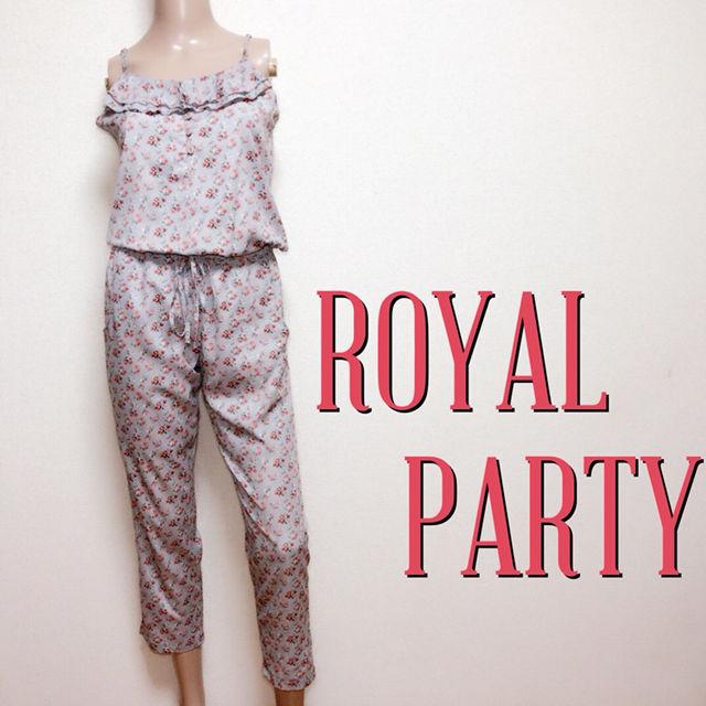 もてスリムロイヤルパーティー カジュアルオールインワン(ROYAL PARTY(ロイヤルパーティー) ) - フリマアプリ&サイトShoppies[ショッピーズ]