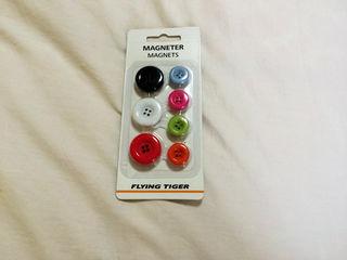 新品 ボタンマグネット