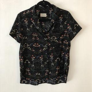 todayful トゥデイフル フラワーシャツ
