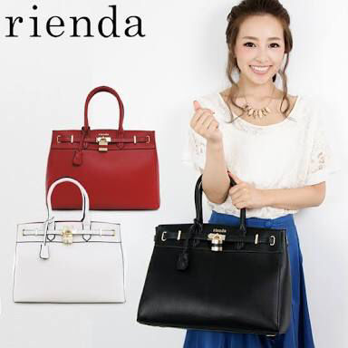 rienda Lサイズハンドバッグ(rienda(リエンダ) ) - フリマアプリ&サイトShoppies[ショッピーズ]