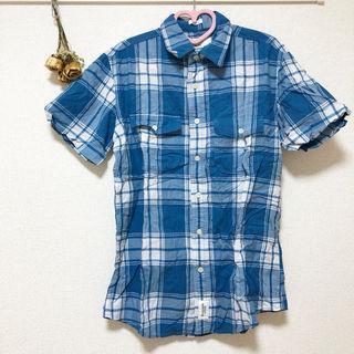 アバクロ チェックシャツ