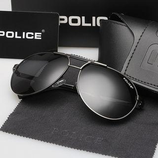POLICE ディアドロップ サングラス