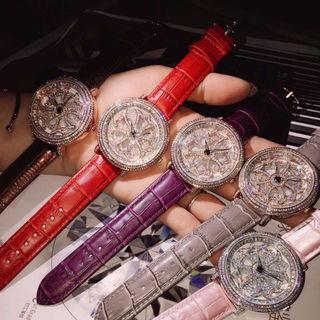 ブリラミコ くるくる腕時計 レディース&メンズ