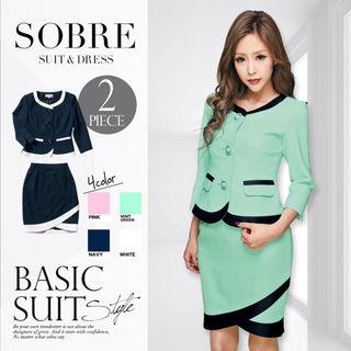 SALEsobre  スーツ セットアップ ドレス