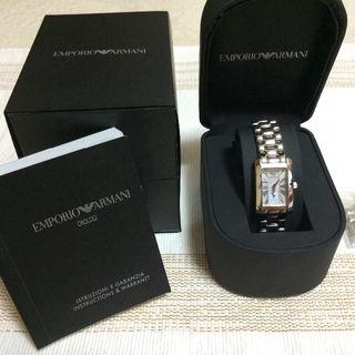 期間限定値下げ!エンポリオ・アルマーニ  レディース腕時計