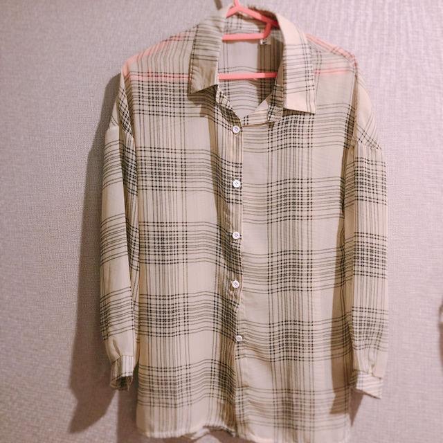 チェックシャツ ベージュ(ZARA(ザラ) ) - フリマアプリ&サイトShoppies[ショッピーズ]