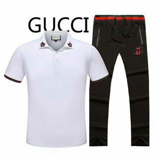 グッチTシャツ上下セットTシャツ&パンツ  セット販売