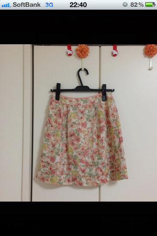 プライドグライド 花柄 スカート