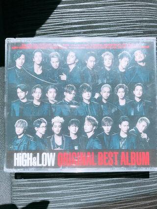 HIGH & LOW DVD&CD