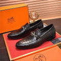 高品質エルメス メンズ人気カップル革靴