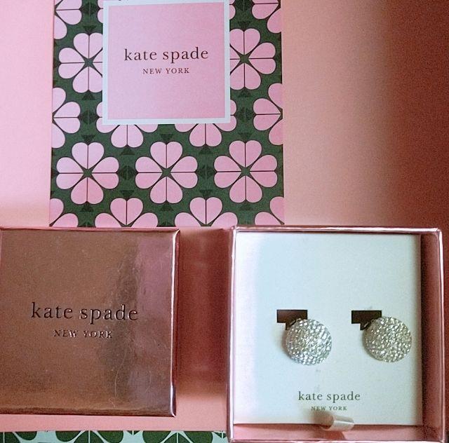 ケイト・スペードニューヨークのイアリング(kate spade NEW YORK(ケイト・スペード) ) - フリマアプリ&サイトShoppies[ショッピーズ]