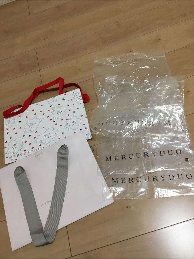 マーキュリーデュオ  ショップ袋(MERCURYDUO(マーキュリーデュオ) ) - フリマアプリ&サイトShoppies[ショッピーズ]