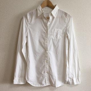 LOWRYSFARM シンプル白シャツ
