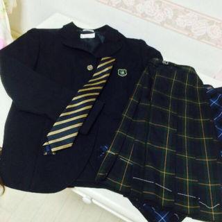 JK 女子高生 ブレーザー スカート セット