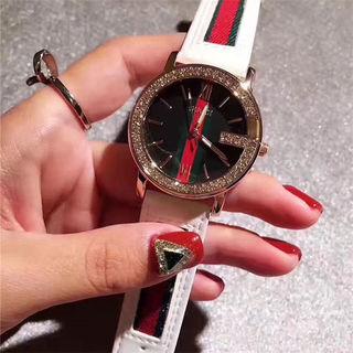 グッチ腕時計 男女兼用 白/赤/黒選択可