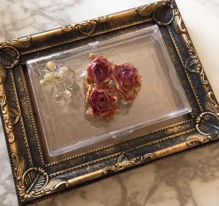 薔薇の小物ケース