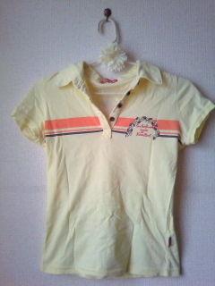 ローズガール*ポロシャツ