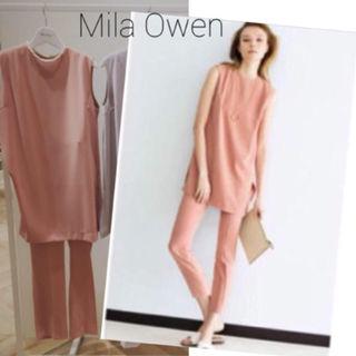 新品Mila Owen*ロングトップスセットアップ