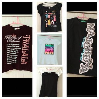 Tシャツ5枚