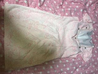 ドレス ビジューつき ピンク Jewels