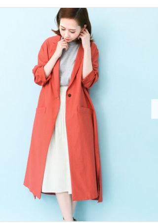 KBF 新品 春に Aラインコート