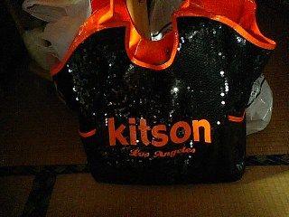 キットソンスパンコールバッグ