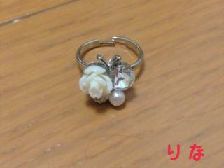 蝶モチーフ リング(アクセ2点まとめ買いで500円)