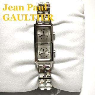 ジャンポールゴルチエ スワロ2連ベルトWフェイス腕時計