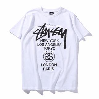 StussyTシャツ/新入荷/6058     黒  白