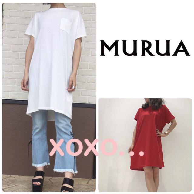 新品 MURUA ポケット付きワンピース