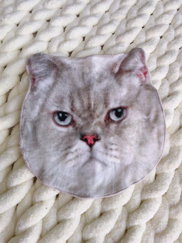 猫 ハンカチタオル