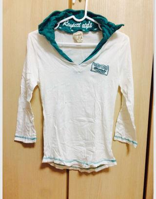 サーフ系 七分袖 シャツ
