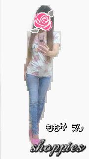 花柄Tシャツ/ドット柄トップス/INGNI