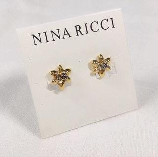 NINA RICCI ロゴイヤリング GP