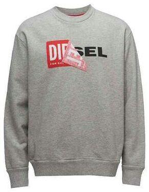 Diesel スウェット ロゴ グレー  L ディーゼル(DIESEL(ディーゼル) ) - フリマアプリ&サイトShoppies[ショッピーズ]