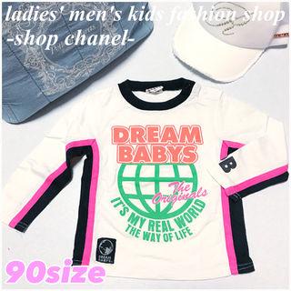 DREAM BABYS女の子 ロゴロンT/90