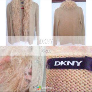 DKNY ファーアウター