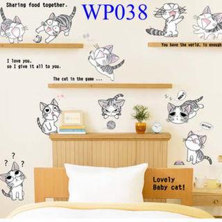 お部屋をイメチェン ウォールシール WP038