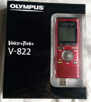 OLYMPUS  ICレコーダー レッド V-822