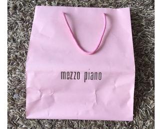 メゾピアノ ショップ袋