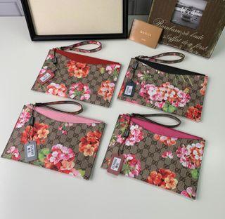 Gucci 人気美品 可愛い 花柄ハンドバッグ 4色