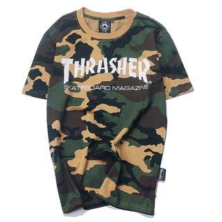 人気美品 THRASHER(スラッシャー)Tシャツth-13