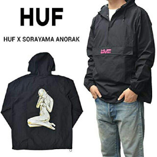 HUF×SORAYAMA アノラックジャケット  L
