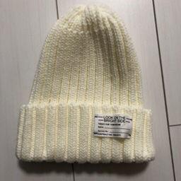 GU ニット帽 White