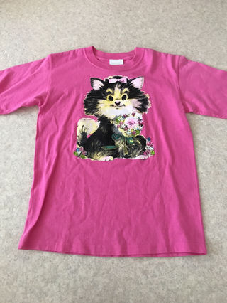 ANNA SUI ピンク Tシャツ