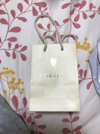 agete 紙袋