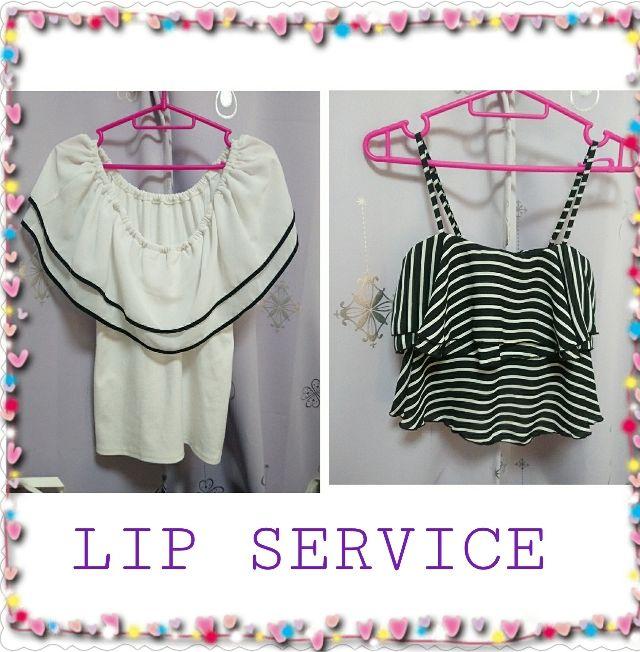トップスセット売りおまけ付き(LIP SERVICE(リップサービス) ) - フリマアプリ&サイトShoppies[ショッピーズ]