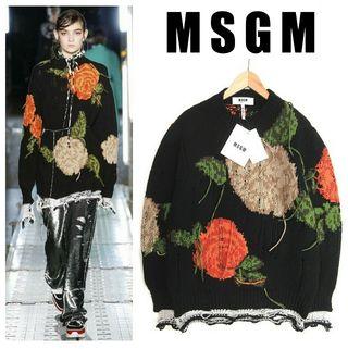 新品 MSGM 16AW ニット セーター ビッグシルエット