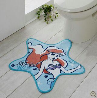 ディズニー Disney アリエル マット トイレ 玄関 足