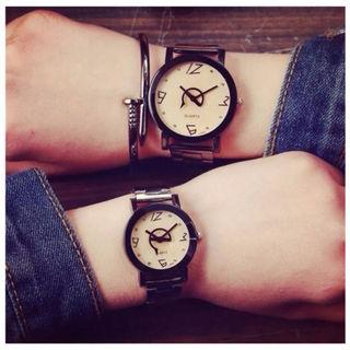 メタルバンド腕時計文字盤が最高におしゃれでかっこいい